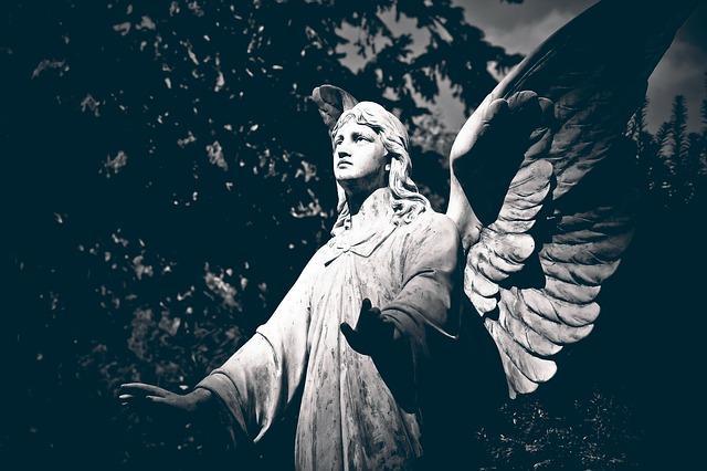 O que é um anjo negro? (ou anjo da morte) 1