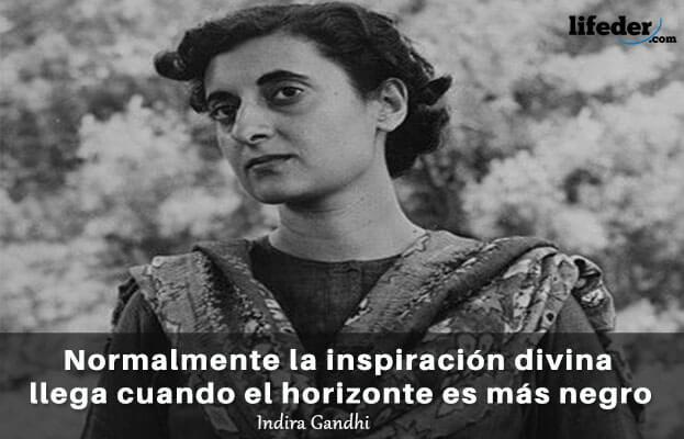As 75 melhores frases de Indira Gandhi 3