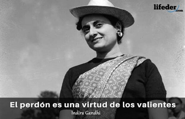 As 75 melhores frases de Indira Gandhi 8