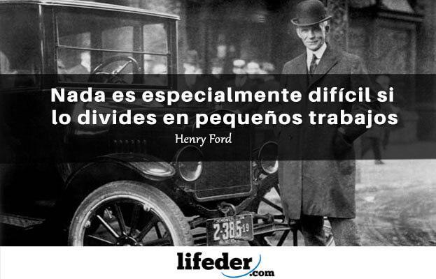 As 50 melhores frases de Henry Ford 11