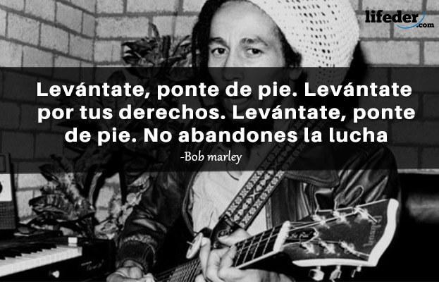 As 100 melhores frases de Bob Marley (amor, paz, vida) 14