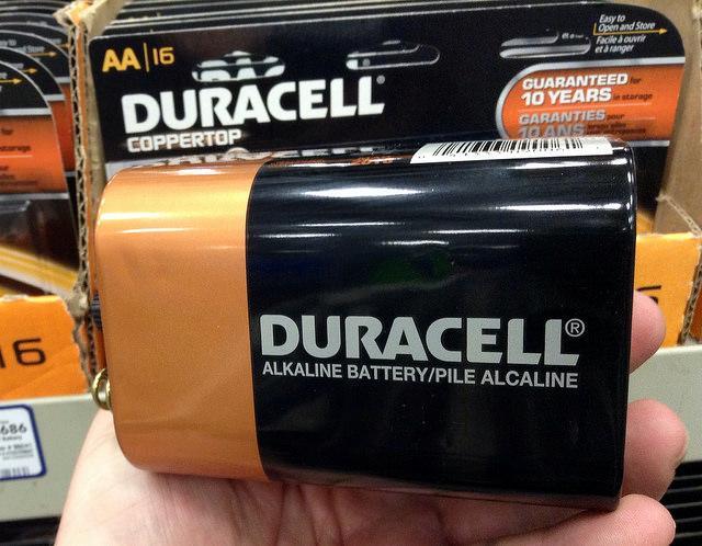Bateria alcalina: componentes, operação e usos 1