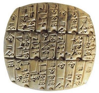 Milênios desde a escrita na Mesopotâmia até a queda de Roma 1