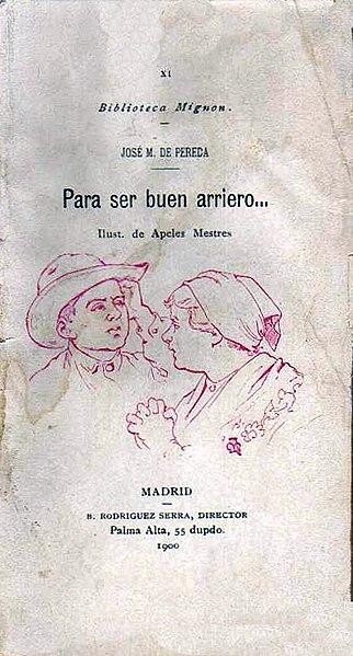 José María de Pereda: biografia, estilo, obras 3