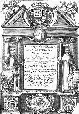 Bernal Díaz del Castillo: biografia, expedições e obras 3