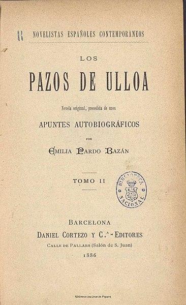 Emilia Pardo Bazán: biografia e obras 3
