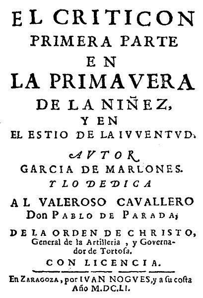 Baltasar Gracián: biografia e obras 4