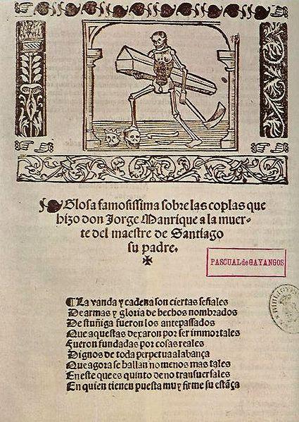 Jorge Manrique: biografia e obras 2