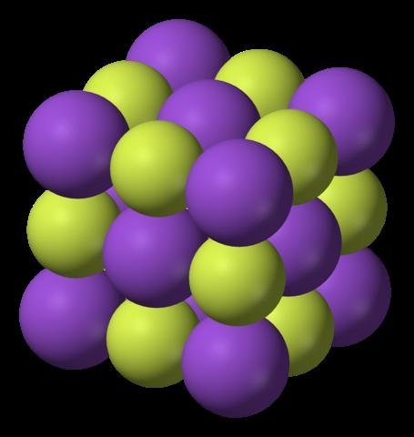 Fluoreto de potássio (KF): estrutura, propriedades e usos 2