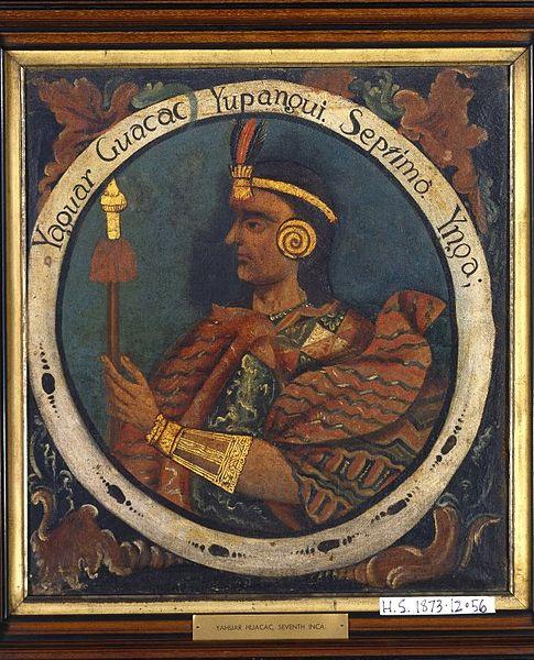 Yáhuar Huácac: a história do 7º Inca 2