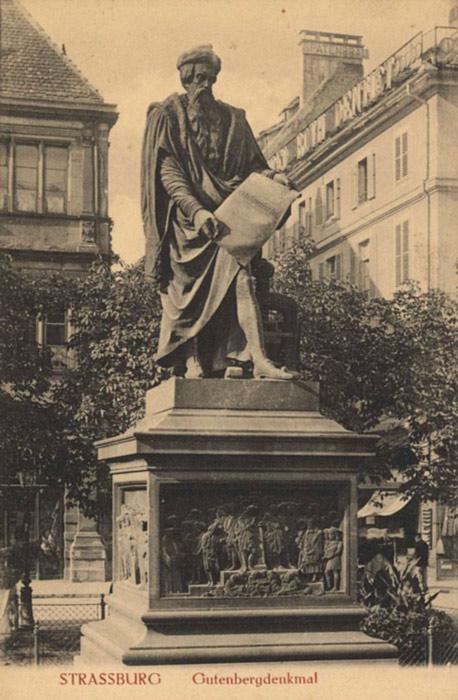 Johannes Gutenberg: biografia, imprensa, honras, dados 5