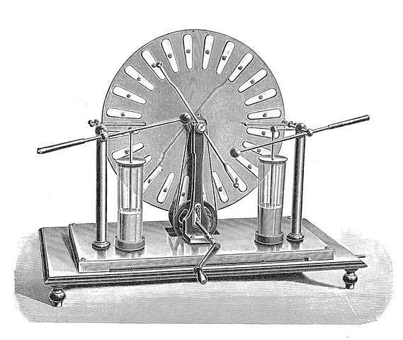 Máquina Wimshurst: história, como funciona e aplicações 1