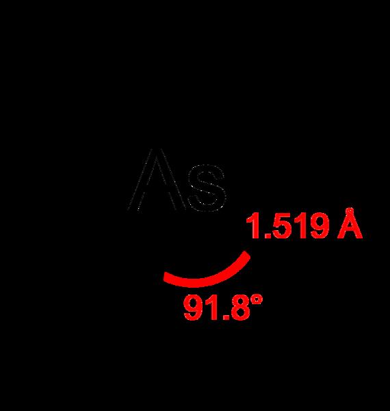 Arsina: estrutura, propriedades, nomenclatura e usos 2