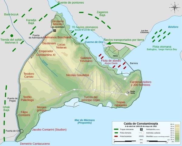 Queda de Constantinopla: antecedentes, causas, consequências 2
