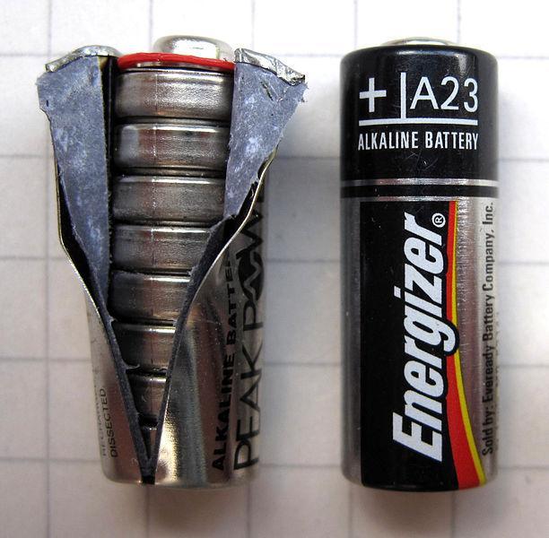 Bateria alcalina: componentes, operação e usos 2