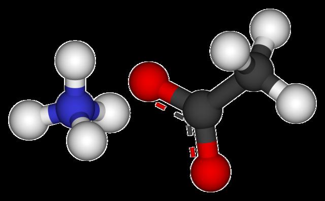 Acetato de amônio: estrutura, propriedades, usos e riscos 2
