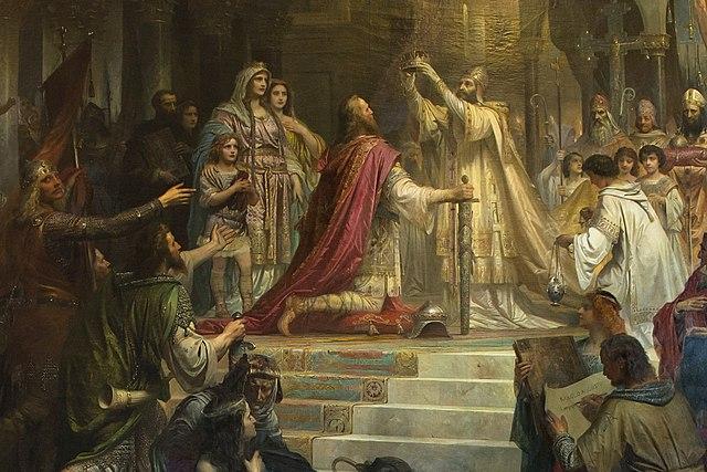 Carlos Magno: biografia, Império, batalhas, morte 5