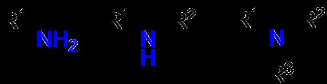 Aminas: estrutura, propriedades, tipos, usos, exemplos 3