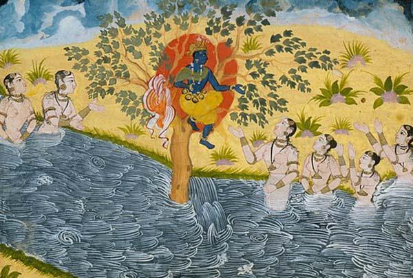 Krishna: biografia, infância, idade adulta, morte, influências 6