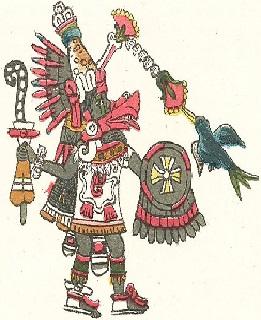 Os 30 deuses toltecas mais importantes 2