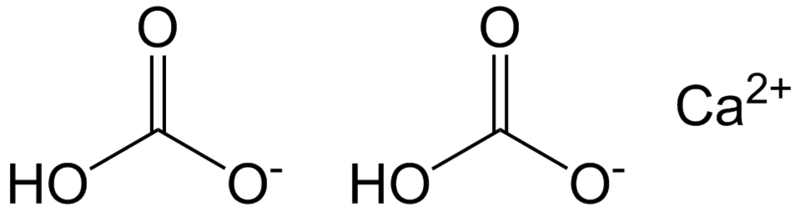 Bicarbonato de cálcio: estrutura, propriedades, riscos e usos 2