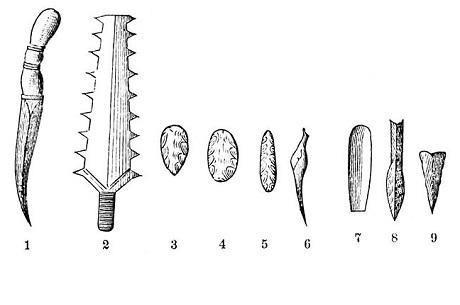 Paleolítico: estágios, características, ferramentas, economia 13