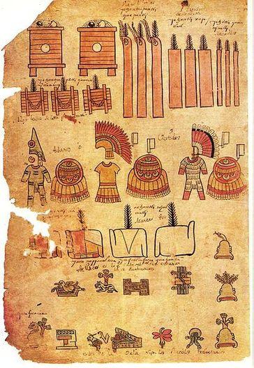 Arte asteca: características, artesanato, pintura, escultura 3