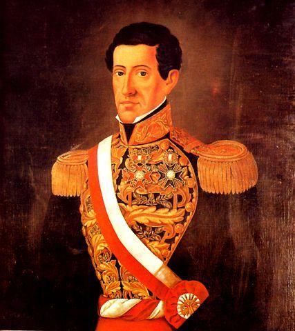 Agustín Gamarra: Biografia, Governo e Obras 1