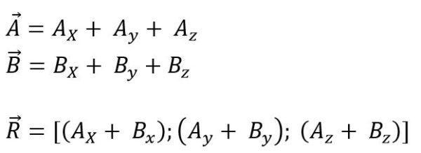 Álgebra de vetores: Fundamentos, magnitudes, vetores 17