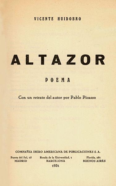 Vicente Huidobro: biografia, criacionismo, obras e frases 3