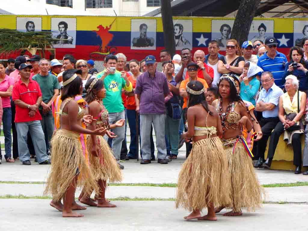 Idade da população indígena da Venezuela 1