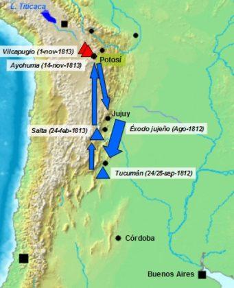 Batalha de Ayohúma: causas, desenvolvimento e consequências 1