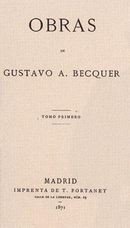 Gustavo Adolfo Bécquer: biografia, estilo e obras 3