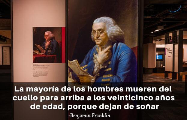As 100 melhores frases de Benjamin Franklin 2