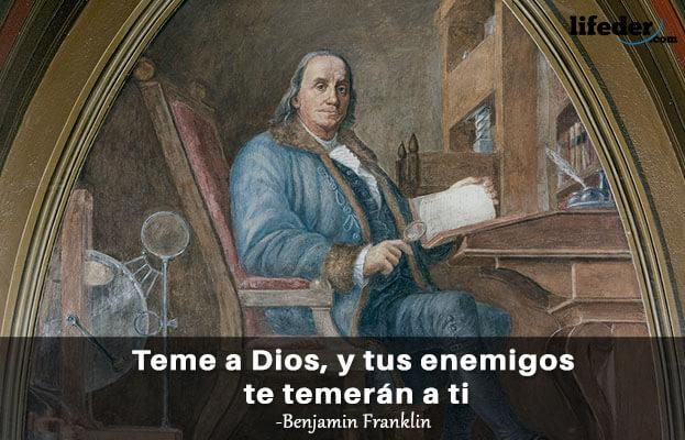 As 100 melhores frases de Benjamin Franklin 11
