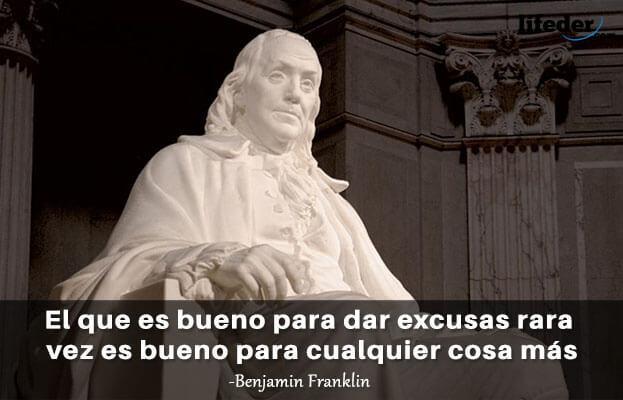 As 100 melhores frases de Benjamin Franklin 17