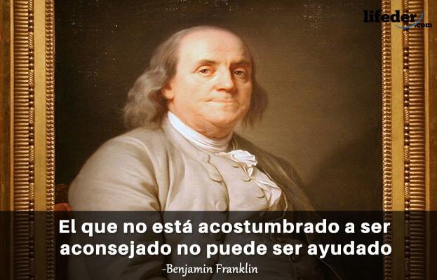 As 100 melhores frases de Benjamin Franklin 3