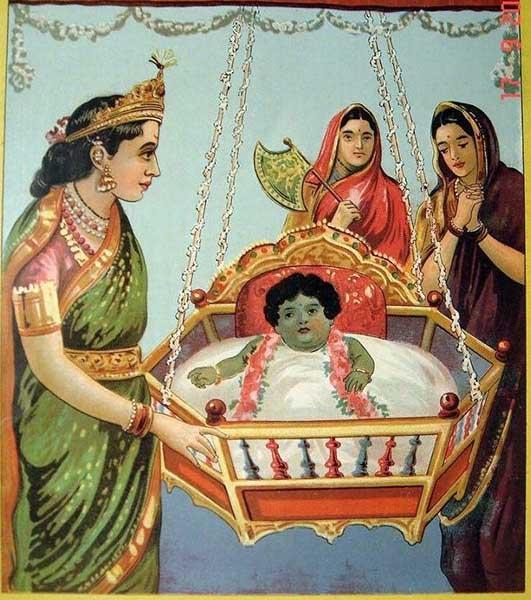 Krishna: biografia, infância, idade adulta, morte, influências 3
