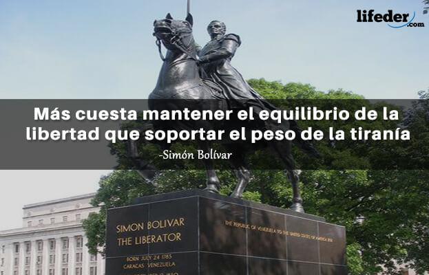 As 100 melhores frases de Simón Bolívar 2