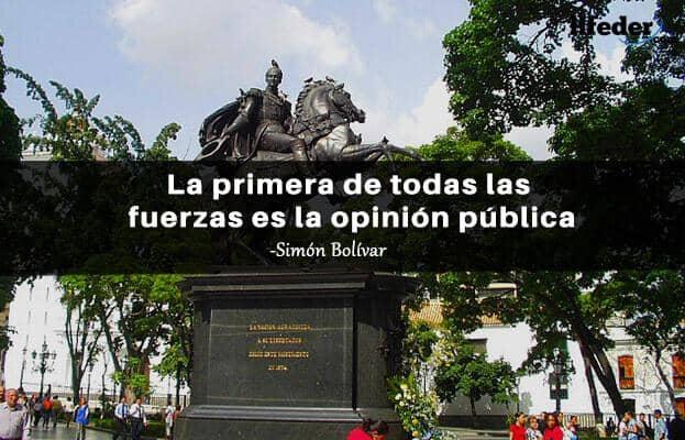 As 100 melhores frases de Simón Bolívar 13