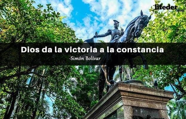 As 100 melhores frases de Simón Bolívar 16
