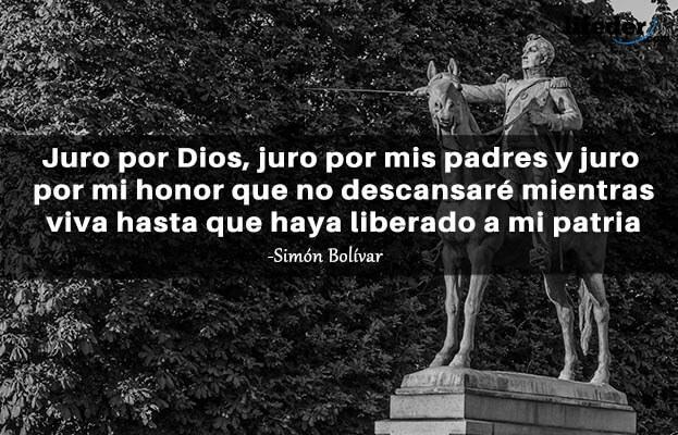 As 100 melhores frases de Simón Bolívar 11