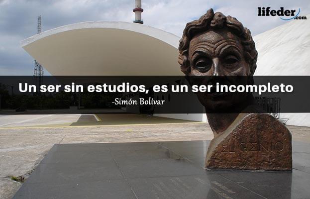 As 100 melhores frases de Simón Bolívar 17