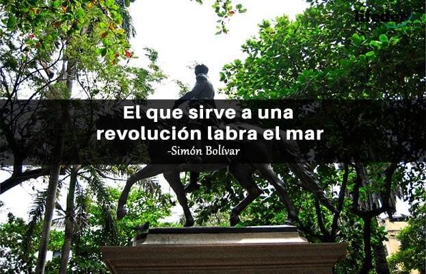 As 100 melhores frases de Simón Bolívar 19