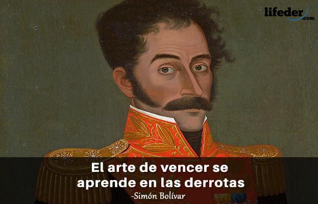 As 100 melhores frases de Simón Bolívar 5