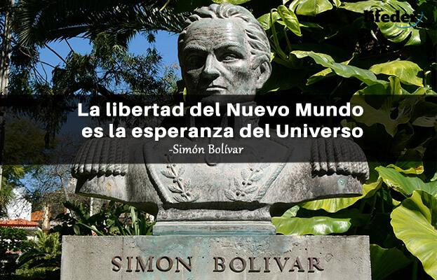 As 100 melhores frases de Simón Bolívar 7