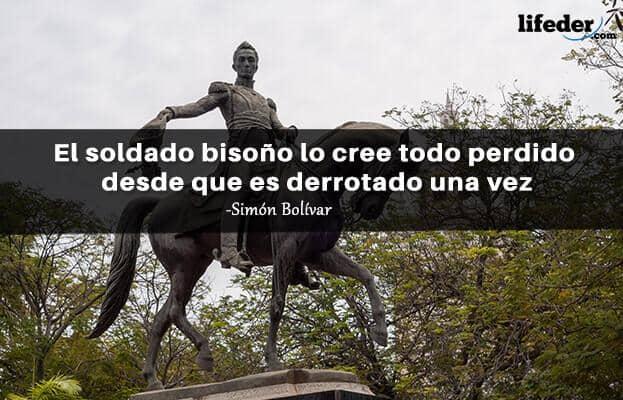 As 100 melhores frases de Simón Bolívar 8