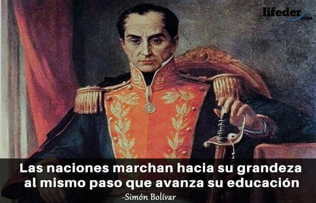 As 100 melhores frases de Simón Bolívar 10