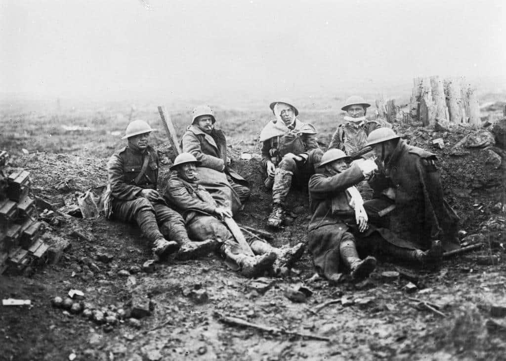 As 4 fases da Primeira Guerra Mundial 1