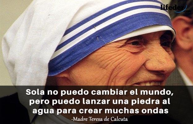 As 100 melhores frases de Madre Teresa de Calcutá 5